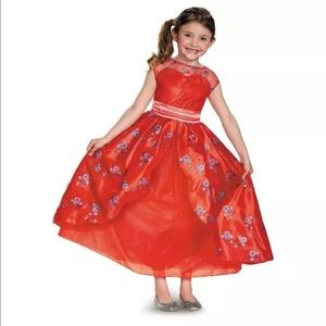 Other - Elena Of Avalor Deluxe Kid Glitter Dress up Gown